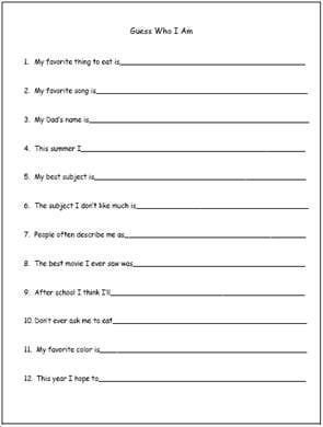 Theme Worksheets For Middle School Students - Worksheets