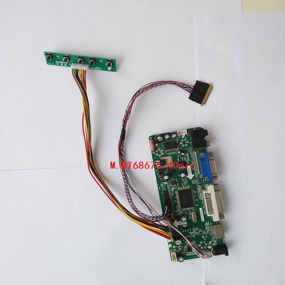 "HDMI DVI VGA Audio Controller Board For 15.6/"" B156HW01 LP156WF1 1920x1080 LCD"