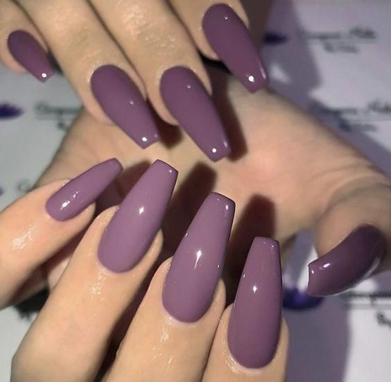 Have a look at our Coffin Acrylic Nail Ideas With Different Colors; Trendy Coffi…