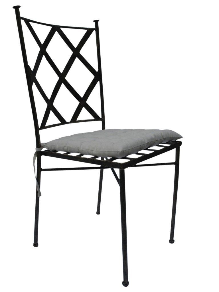 Merrakech 20chair Wrought Iron Chairs Chair Leather Dining Chairs
