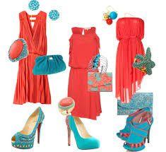 Resultado De Imagen Para Accesorios Para Vestido Coral Vestido Coral Ropa Vestidos