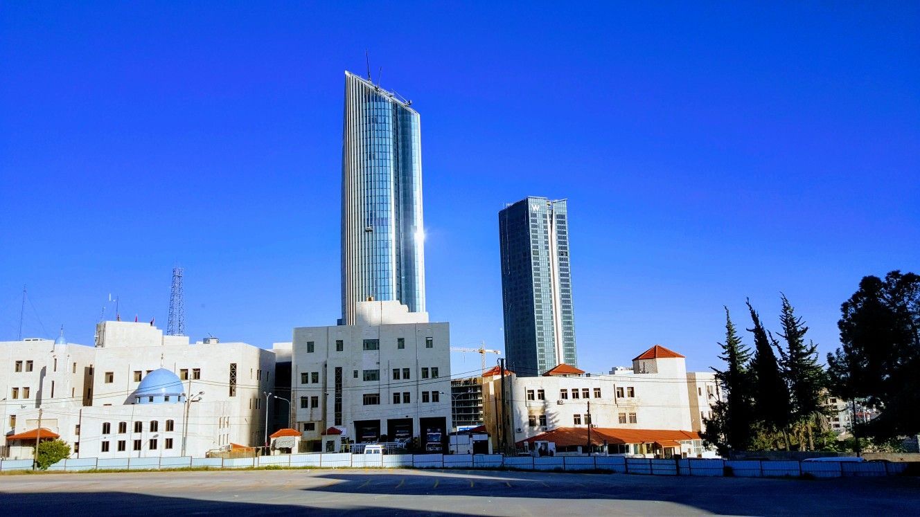The Rotana Tower Jordans Tallest Building Keeps Watch Over New Abdali Downtown