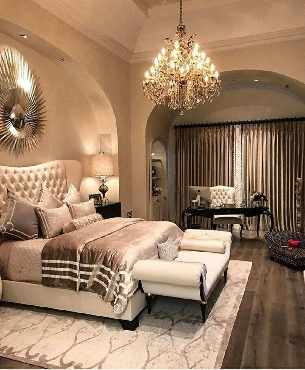 Bedroom Ideas 52 Modern Design Ideas For Your Bedroom: 45 Amazing Luxury Champagne Bedroom Ideas With Elegant