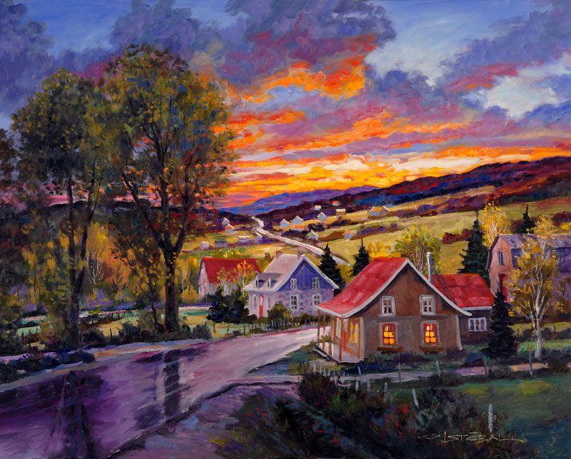 Juan Cristobal Dernieres Productions Peinture Paysage