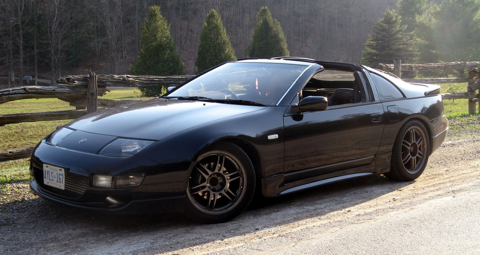 1990 nissan 300zx 1990 nissan 300zx 2 dr turbo hatchback picture exterior