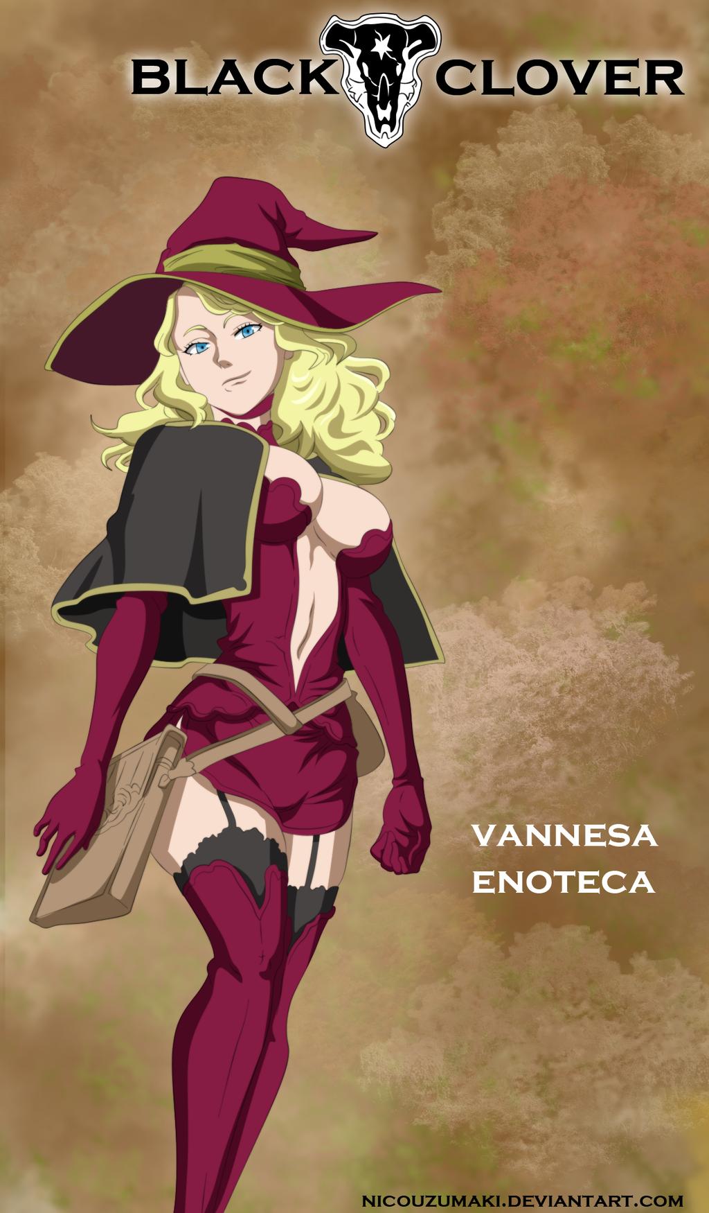 Pin On Vanessa Black Clover