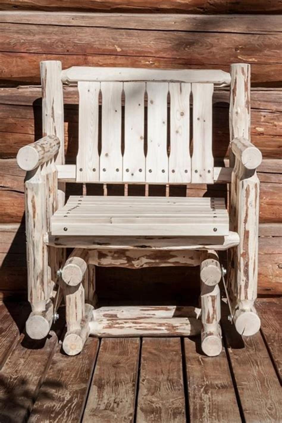 perfect rustic porch furniture