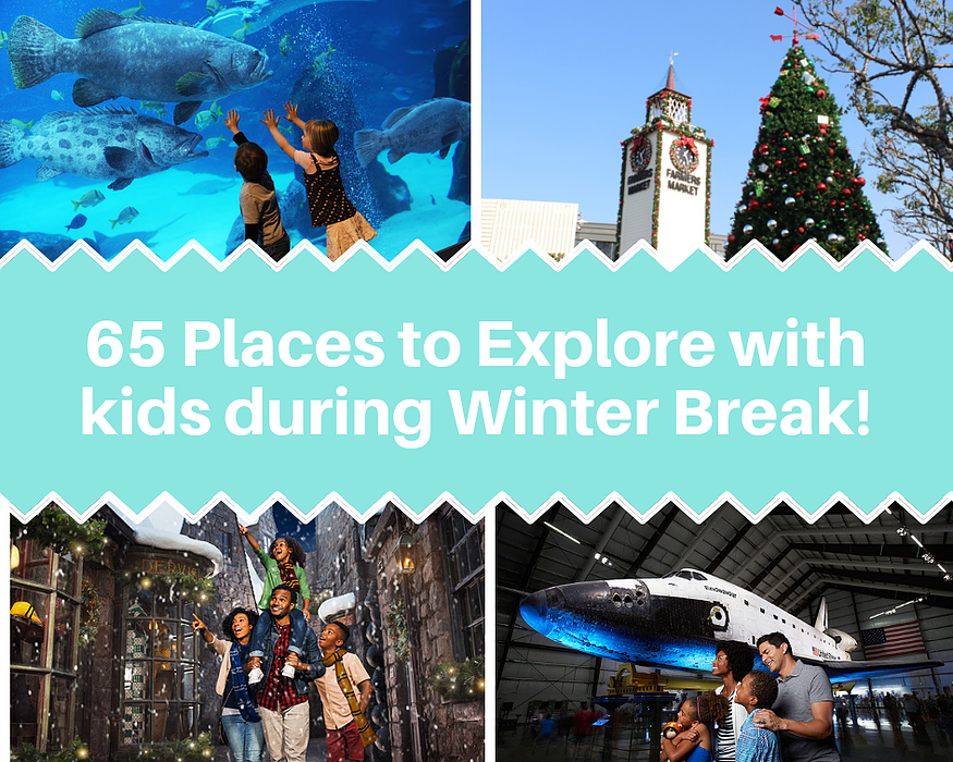 65 Cool Places To Explore With Your Kids During Winter Break Fun With Kids In La Best Things To Do With Ki Jokes For Kids Fun Family Activities Fun Events