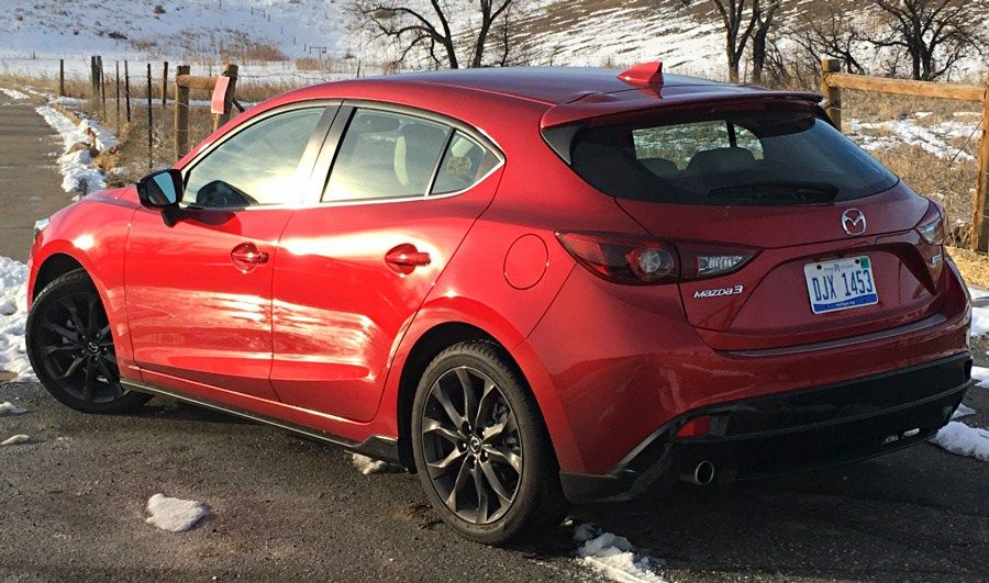 Zipping around town in a 2016 Mazda 3 from Mazda, Mazda 3