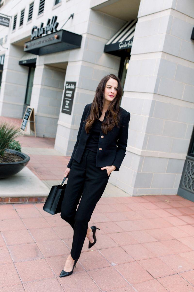 5 Ways To Wear Black Work Pants The Miller Affect Wearing Black Work Pants How To Wear [ 1200 x 800 Pixel ]