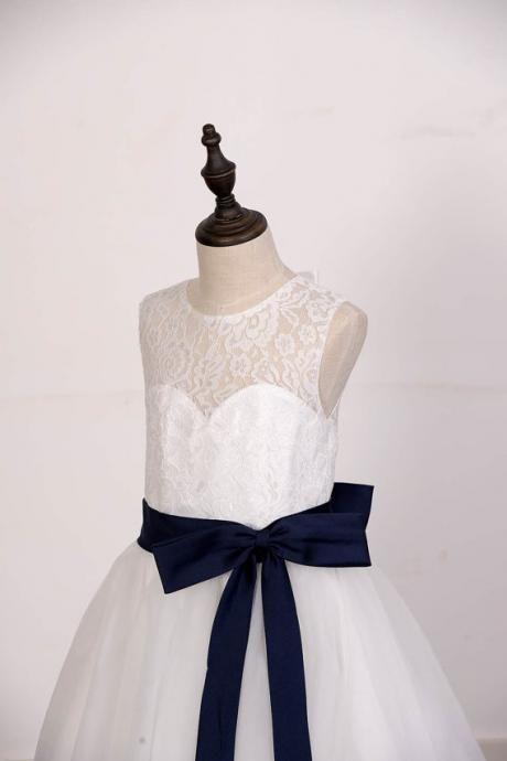 Kids Baby Girls Dress Princess Party Pageant Wedding Tutu Dresses Clothes Bl