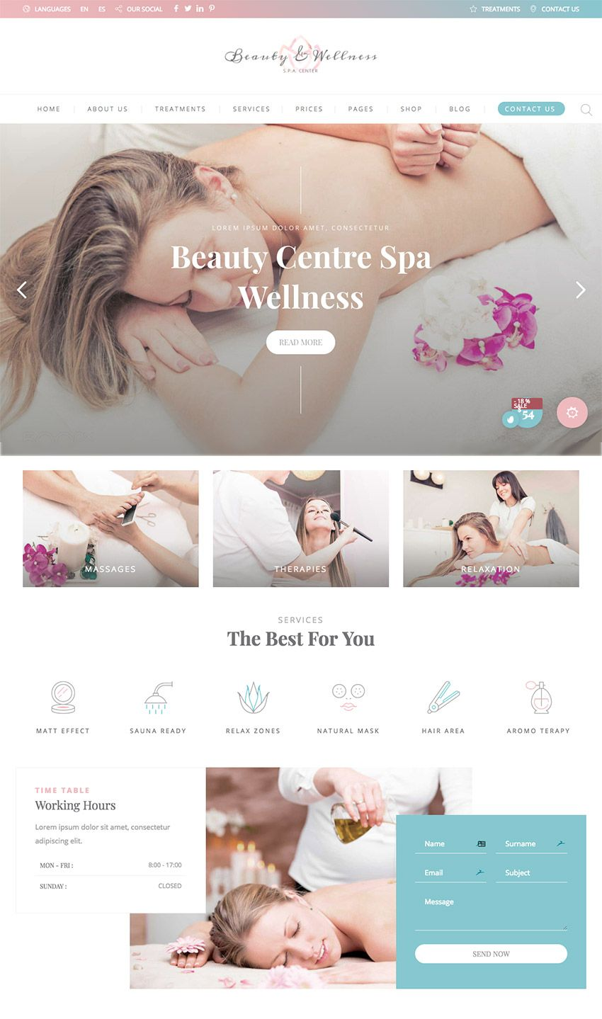 How to Make Beautiful Spa & Beauty Salon Websites With WordPress