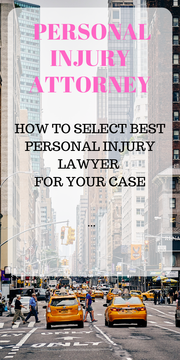 Choosing personal injury attorney is not easy there are