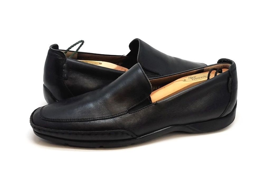 fa3d404ae4d Mephisto Mens Shoes Cool Air Black Leather Loafers Size 9 M  Mephisto   LoafersSlipOns
