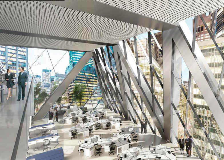 norman foster office. Foster Partners Breaks Ground On New York Office Tower Norman R