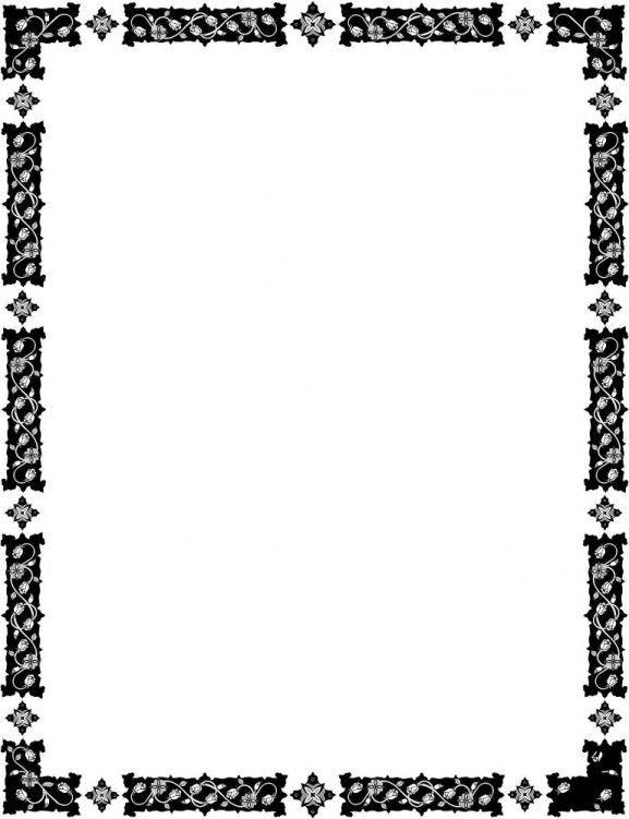 download file desain frame border berformat vector pencetakan bingkai desain download file desain frame border