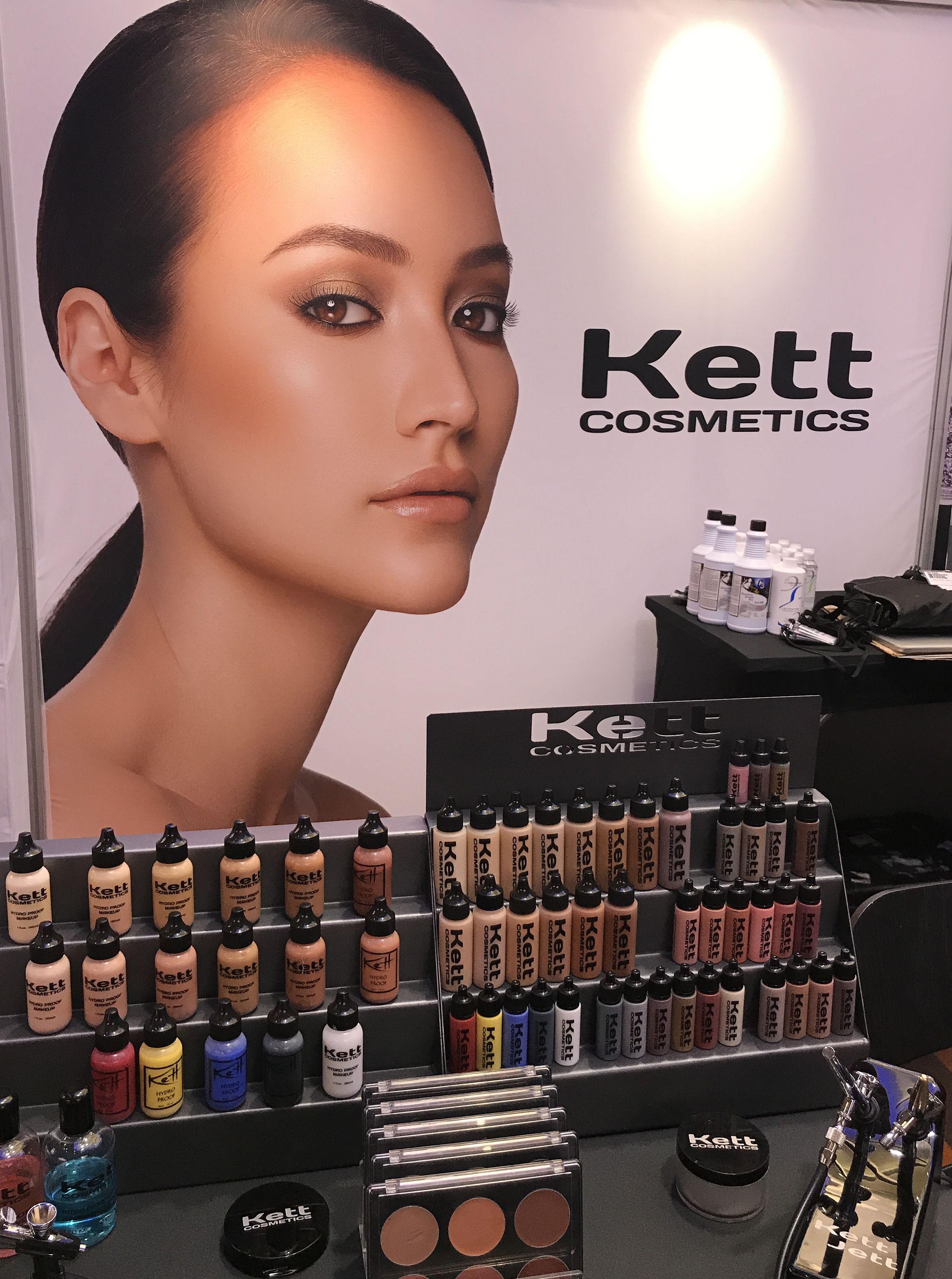 Kett Booth Airbrush makeup kit, Vegan makeup, Makeup
