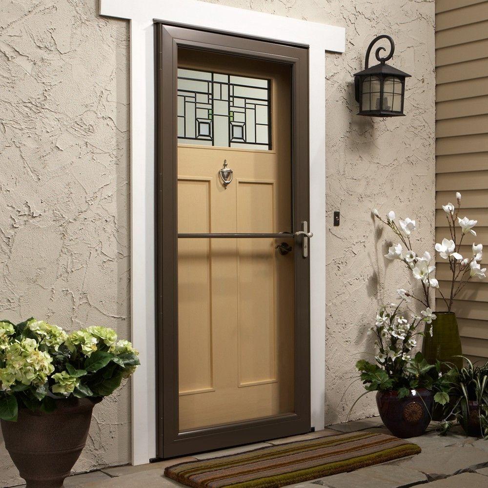 Andersen 3000 Storm Door Retractable Screen Aluminum Storm Doors