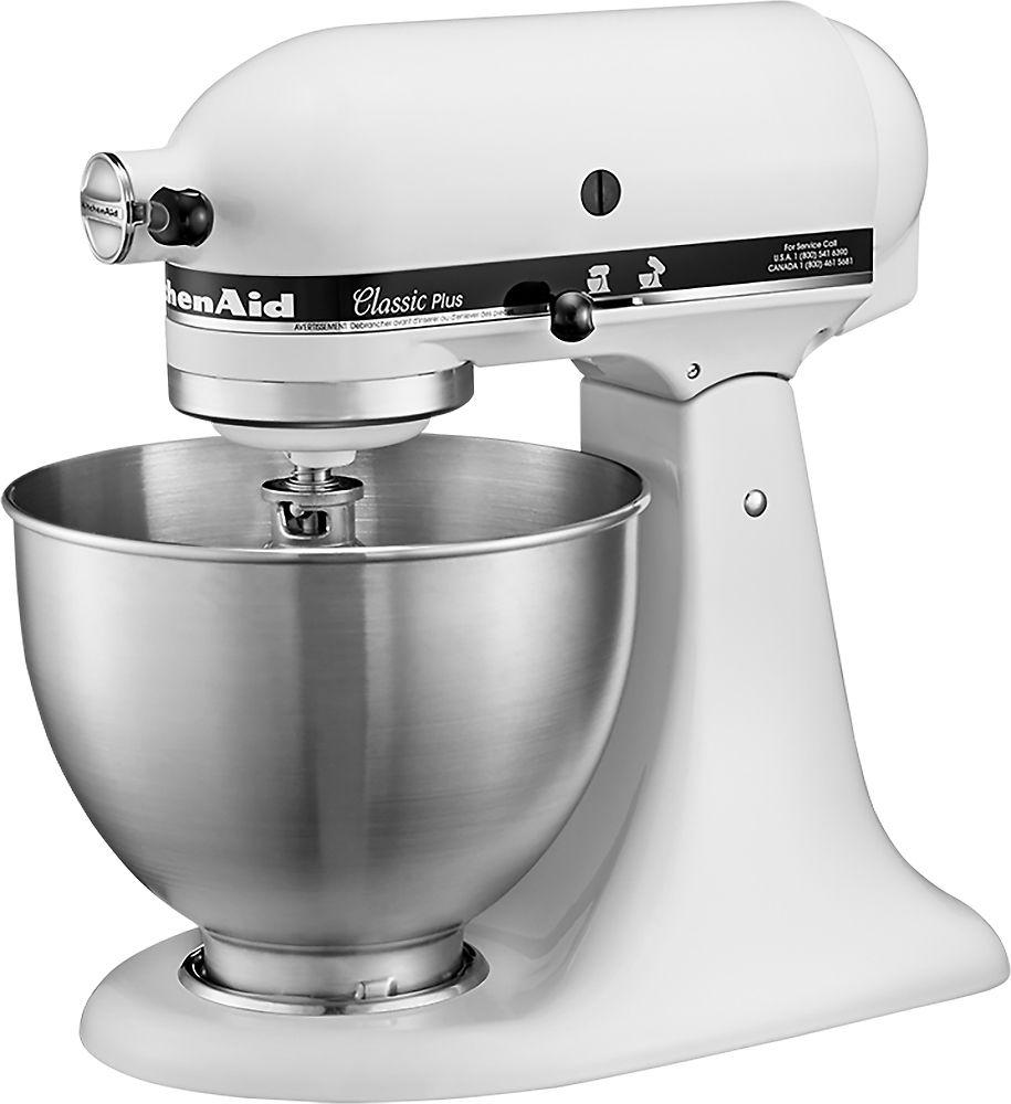Kitchenaid ksm75wh classic stand mixer multi