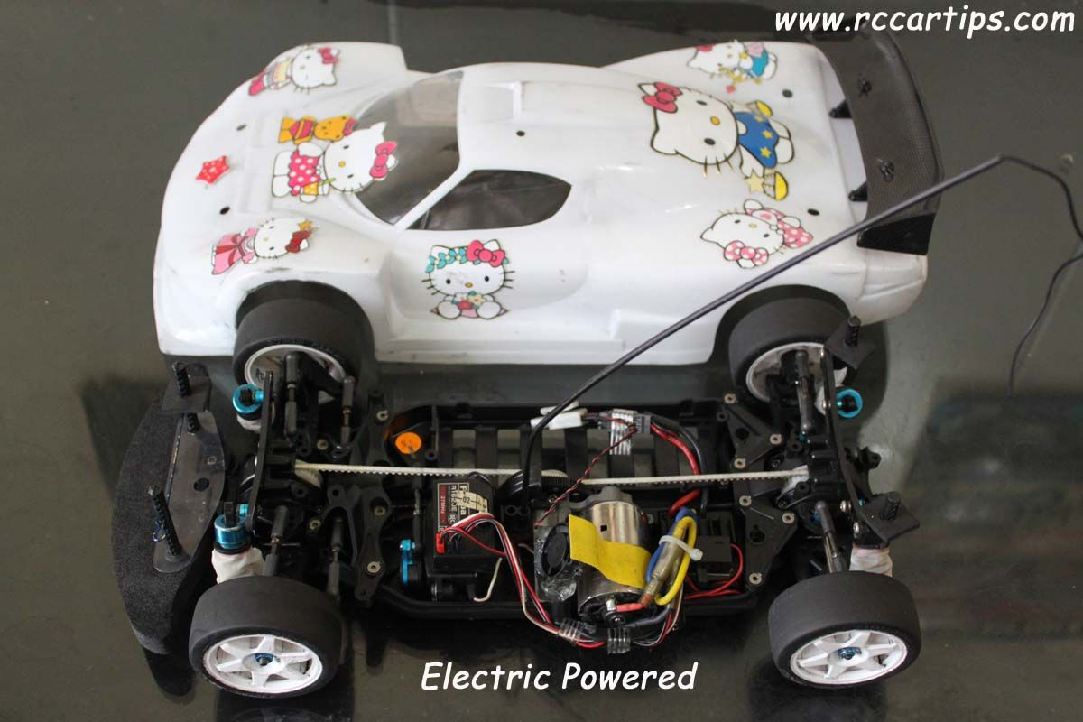 Electric powered rc cars