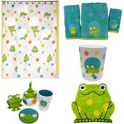 King Frogs Bathroom Collection Bundle