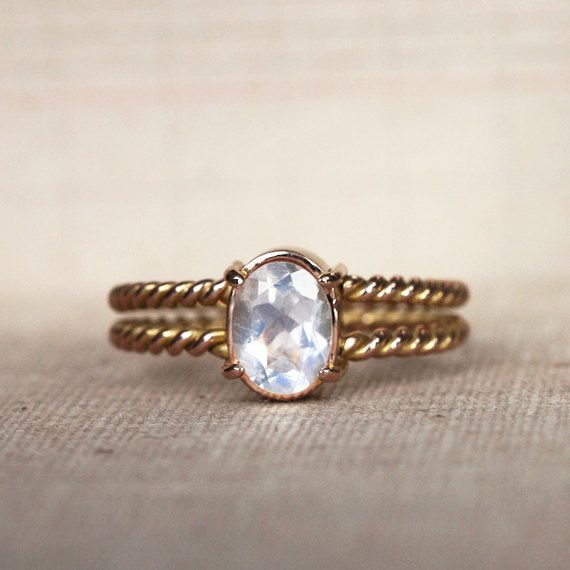 memento mori ring unconventional engagement ring moonstone gold 18ct made to order - Unconventional Wedding Rings
