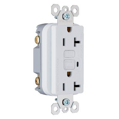 Pass Seymour Legrand 20 Amp Decorator Gfci Electrical Outlet Electrical Outlets Gfci Renovation Hardware