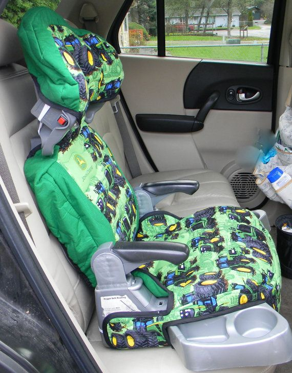 Booster Seat Cover Car Accessory For Even Flo Big Kid In John Deere Print And Colors To Delight Your Children 2018