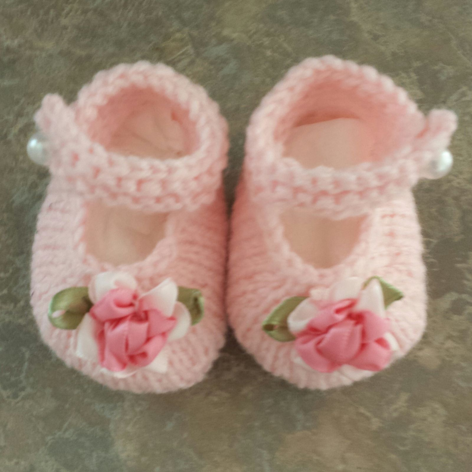 Baby Janes By Valerie Johnson - Free Knitted Pattern - (ravelry ...