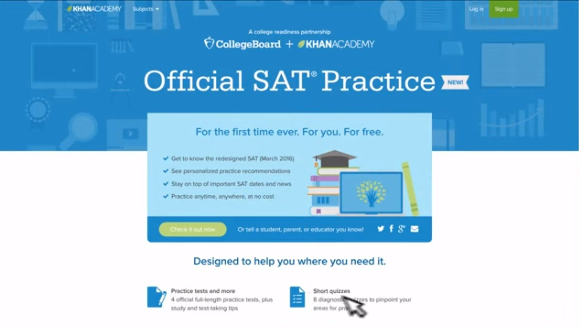 free personalized test practice based on your psat results link up your college board