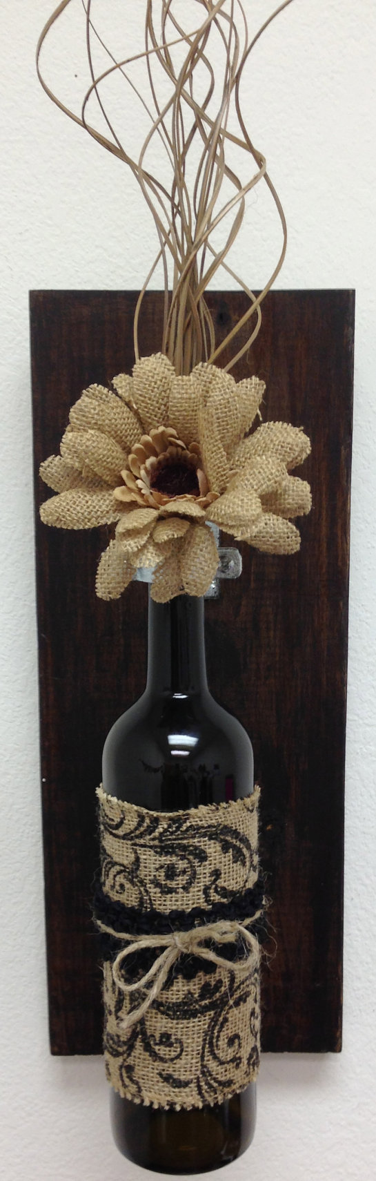 Wall Sconces Wall Hanging Decorative Wine bottle by AdellesAvenue