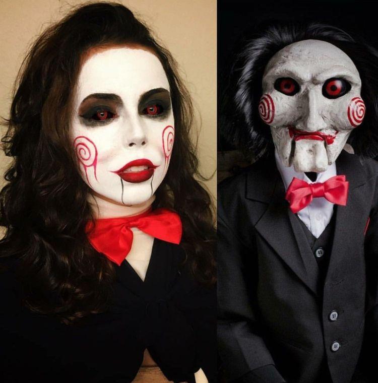 Horror Kostum Zu Halloween 30 Gruselige Ideen Aus Filmen Und