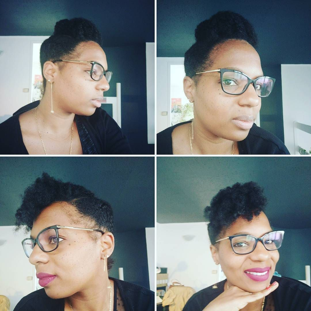 Hier Aujourd'hui  ! Une coiffure plein de possibilités  J'adooore pouvoir changer facilement de tête ! Hair Yesterday  Hair today ! One style multiple options! I looove how i can easily  switch up my look ! . . #naturalhair #naturalhairstyle #updo #naturalistadaily #naturalhaircommunity #naturalhairrocks #teamnatural #lovemyhair #hairstyle #blackhair