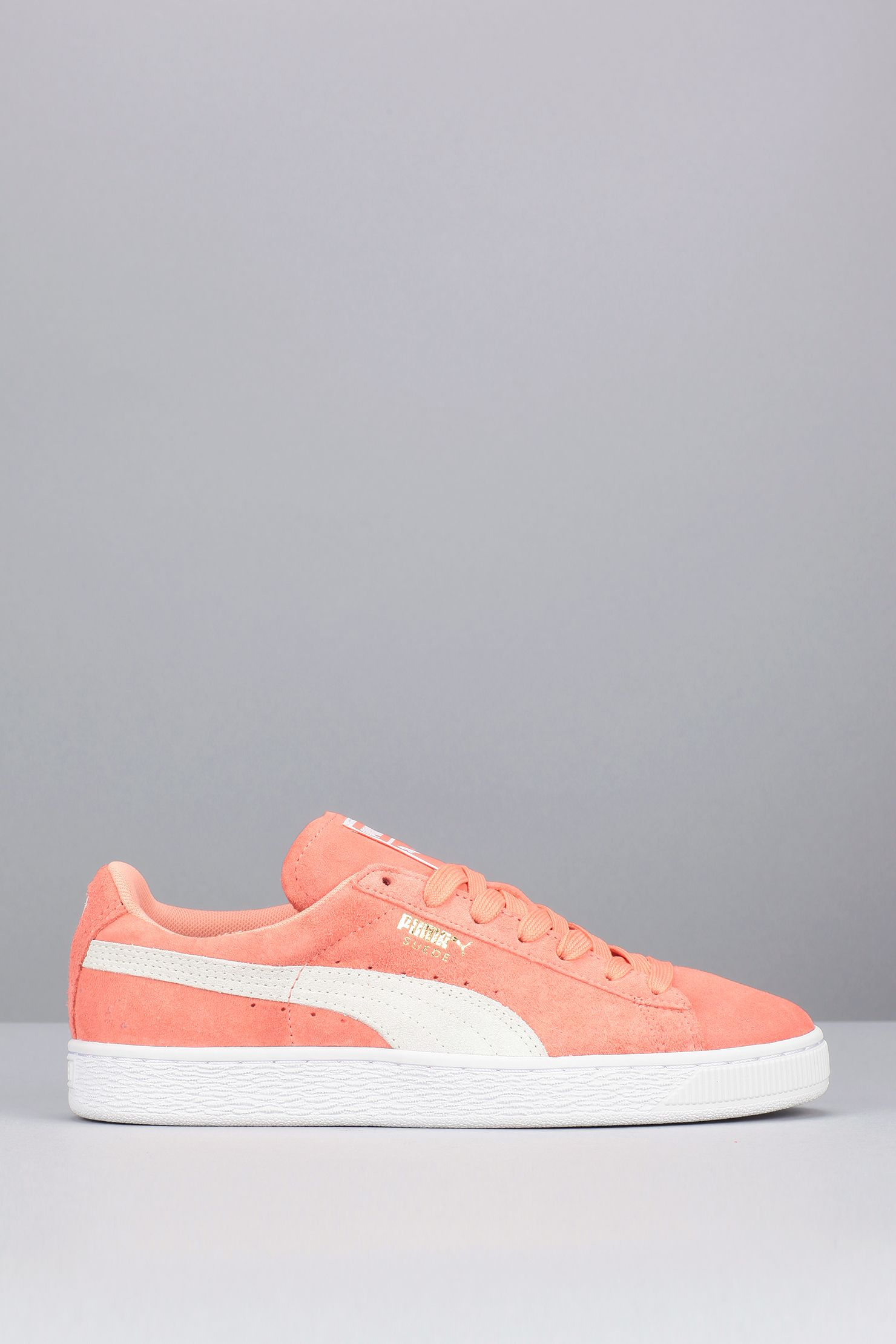 ee161534c1a Baskets corail cuir Suede Classic + Kinds Of Shoes