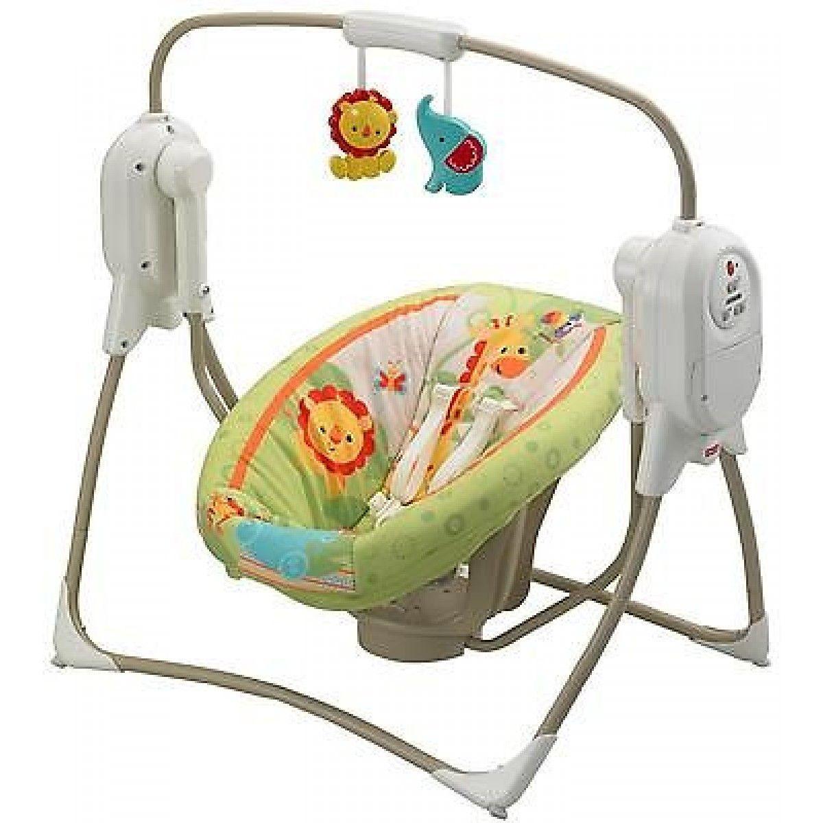 fisherprice rainforest portable baby swing  buy toys and baby swings - fisherprice rainforest portable baby swing