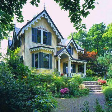 les 25 meilleures id es de la cat gorie maisons de style victorien sur pinterest maisons. Black Bedroom Furniture Sets. Home Design Ideas