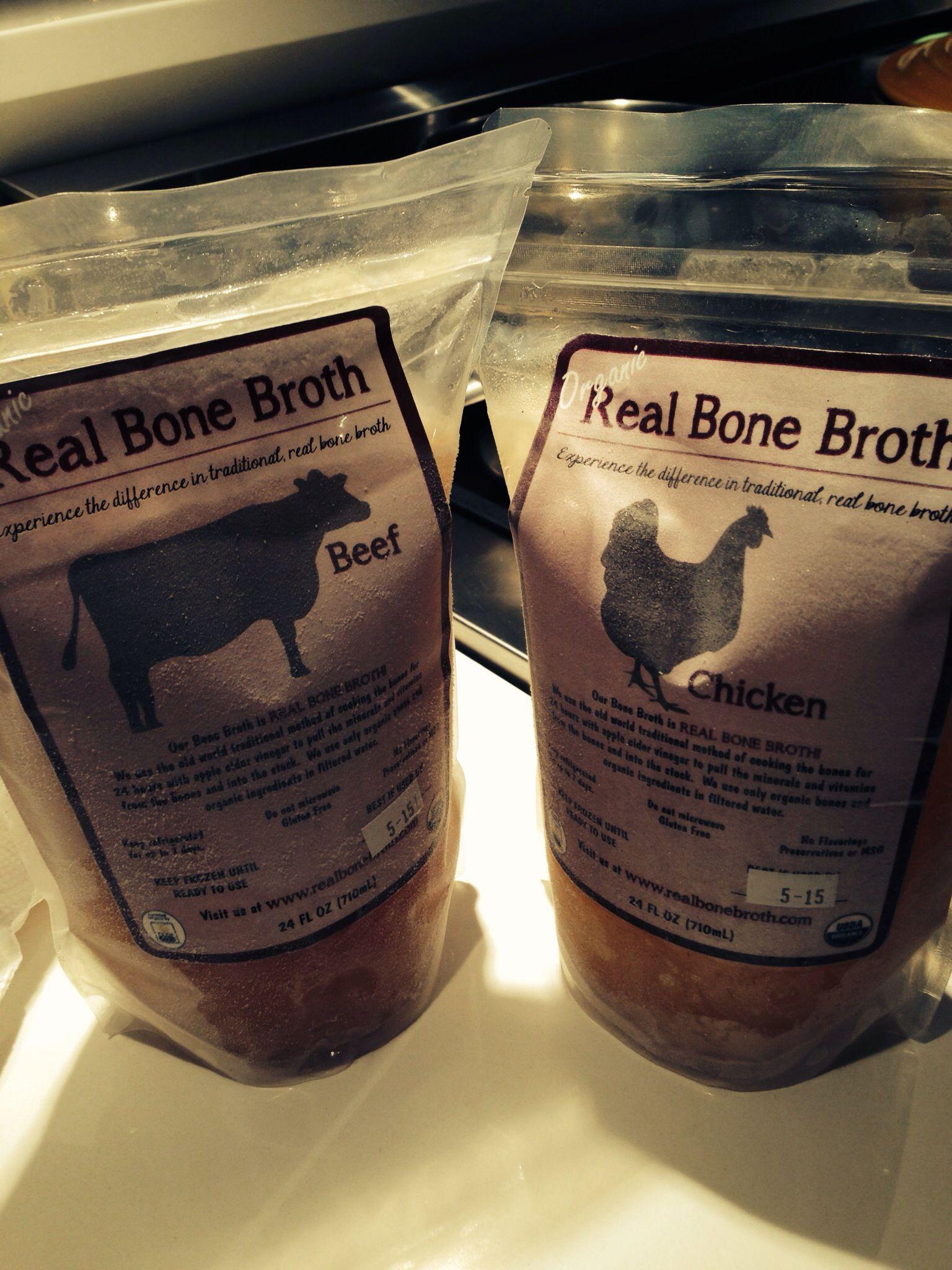 Healthy bone broth is my flushot this year healthy bones