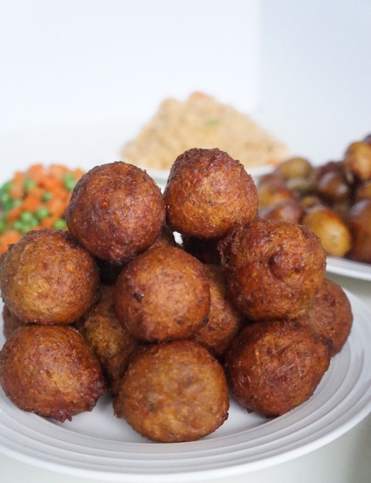 Spicy Plantain Puff Puff  Recette  Cook  Cuisine africaine Recettes africaines et Recette