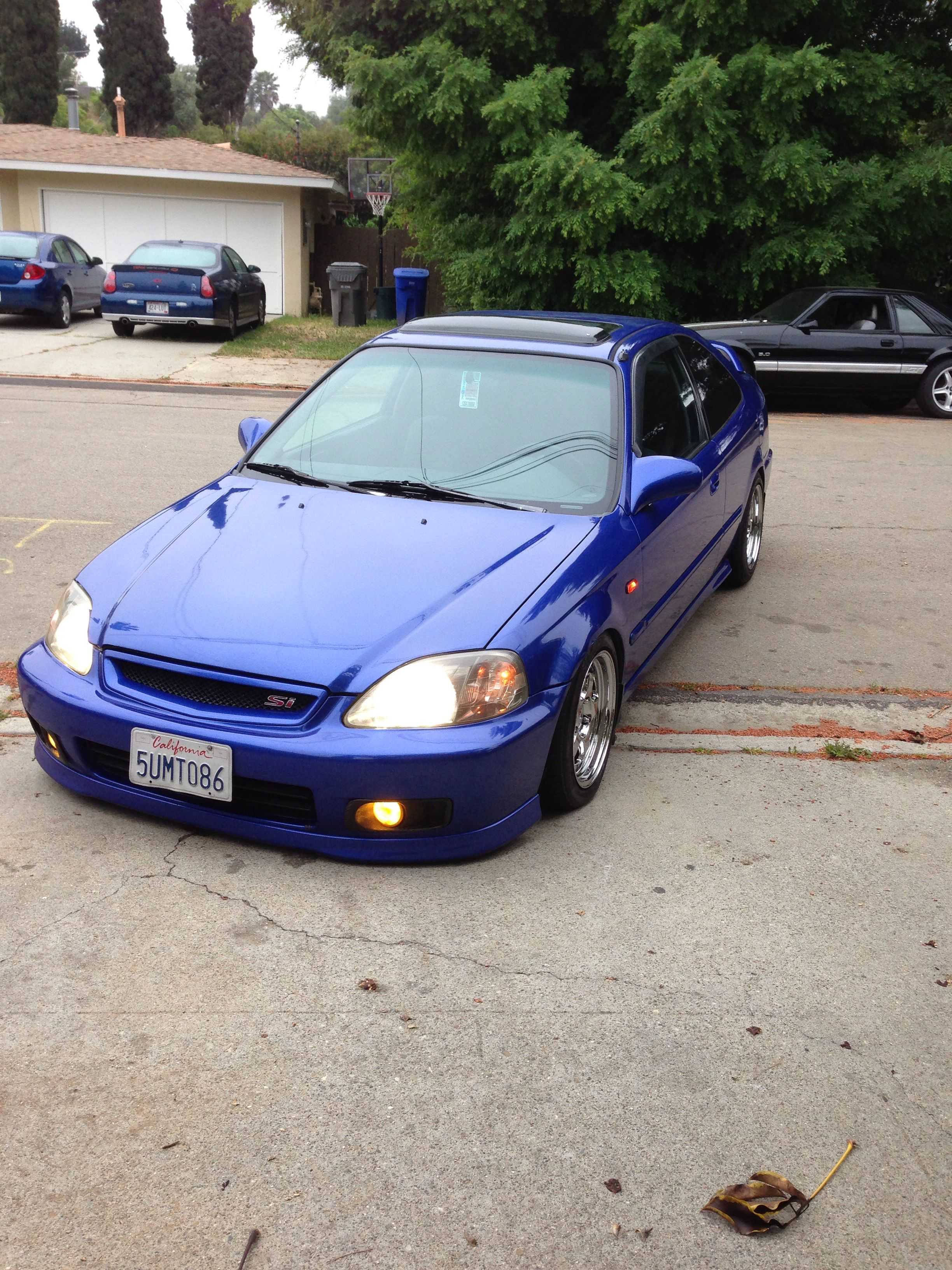 Honda Civic Si 2000 Modified : honda, civic, modified, Honda, Civic, Hatchback,, Vtec,, Coupe