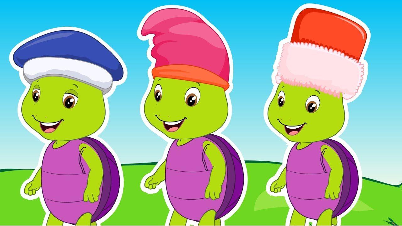 Ten Little Turtles A Number Song More Nursery Rhymes Kids