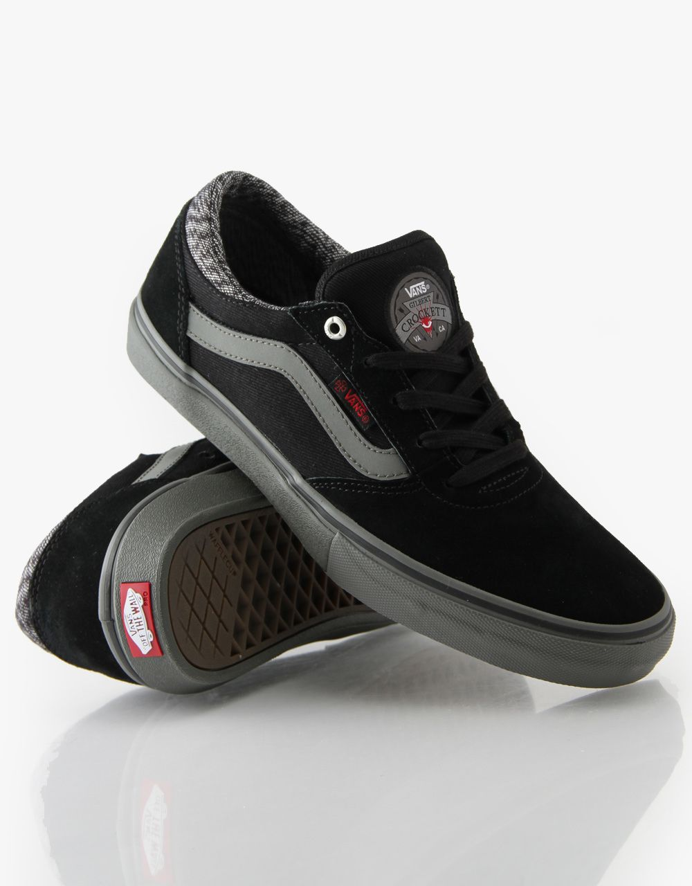 Vans Gilbert Crockett Pro x Independent Skate Shoes - Black Charcoal -  RouteOne.co.uk 5ad6014629