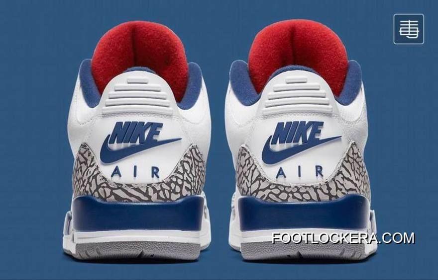 """Nike Air Jordan 3 OG 88 """"True Blue""""   Air jordan 3   Air ..."""