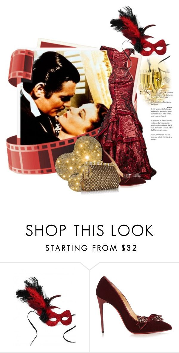 """""""Miss Butler Is Ready!"""" by the-house-of-kasin ❤ liked on Polyvore featuring Masquerade, Christian Louboutin, Dolce&Gabbana and vintage"""