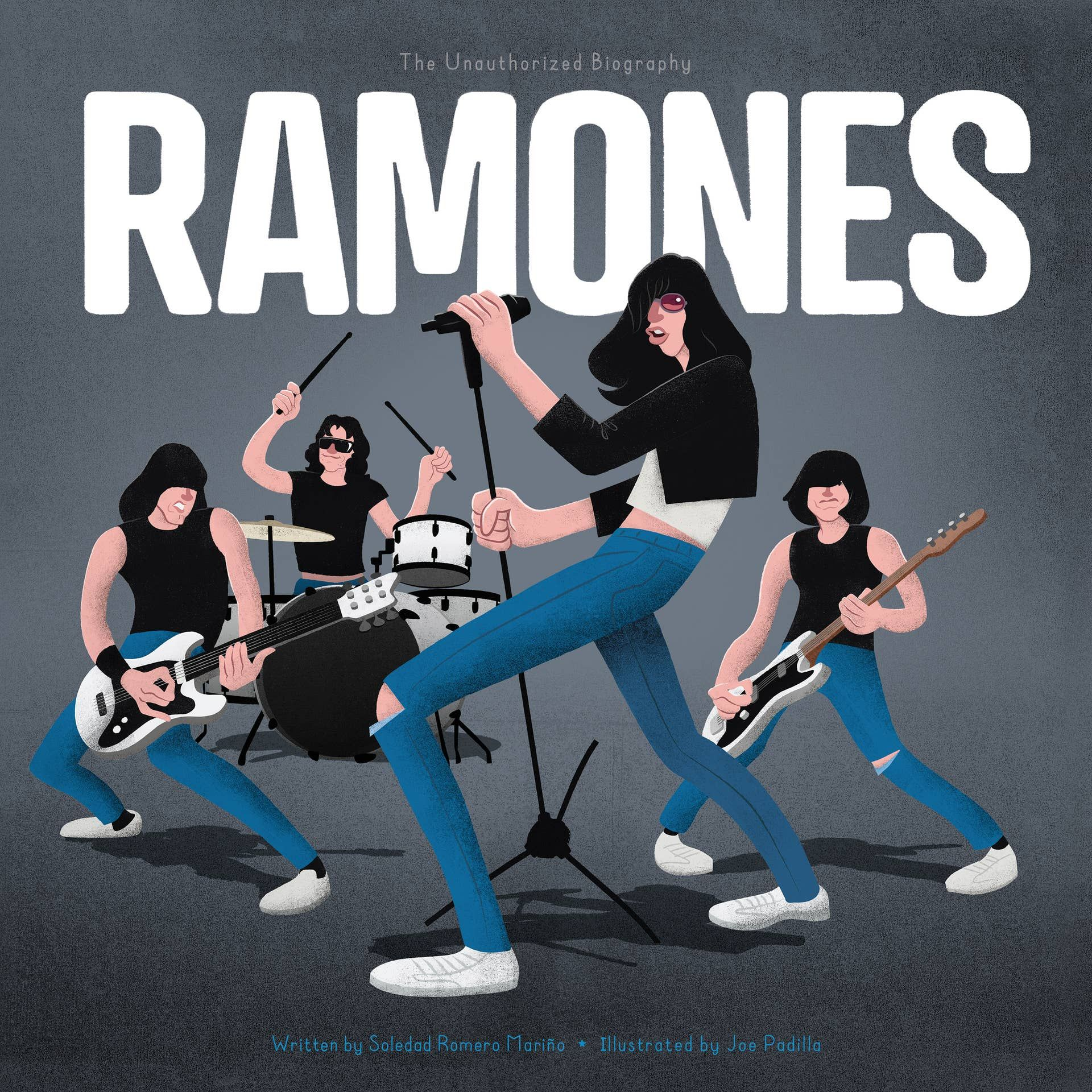 Behind-the-scenes stories and sophisticated artwork will give lifelong buffs and new fans alike a rare glimpse into the world of one of the most iconic bands ever, the Ramones! 40 pages.The Ramones are punk rock. It started in Queens, New York in the early seventies. Four shy boys who couldn't even play instruments got a couple guitars, found some ripped jeans and black leather jackets, and took over the world of punk.Lifelong rockers and new fans alike will love learning more about Joey, Johnny