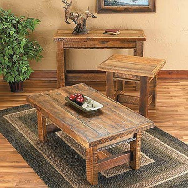 reclaimed barnwood coffee table   Barn wood, Barnwood coffee table