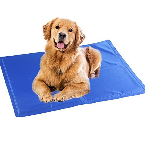 Augymer Chilly Pet Cooling Gel Mat 16x20 Comfort Cool Pad For Dog Cat Mat Bed Kennels Crates Read More At The Image Cool Dog Beds Dog Cooling Mat Your Dog