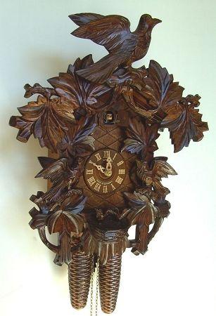 German Original Black Forest Cuckoo Clocks Anton Schneider Black Forest Cuckoo Clock Model Maison Bois Bois Maison