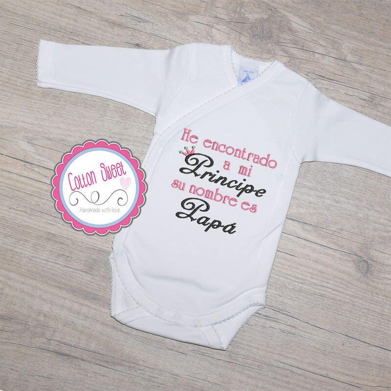 Body personalizado frase regalo papa Camisas Para Bebes fad9daa1df0