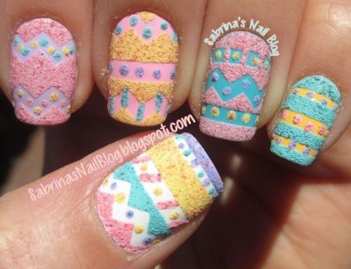 15 Easter Egg Nail Art Designs Ideas Trends Stickers 2015 7 Nail