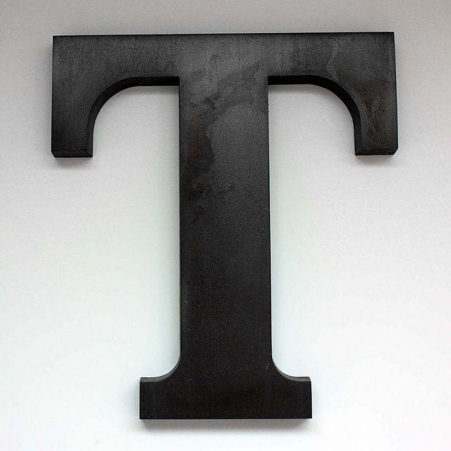 Letter T Large-2 | Lettering, Alphabet photography ...